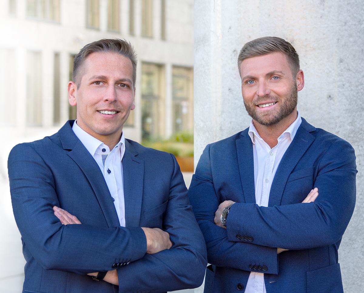Wilhelm Baier und Jens Büttner
